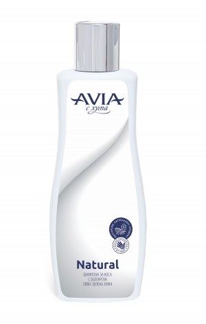 Hair shampoo with natural Bulgarian Fuller's earth Avia Natural