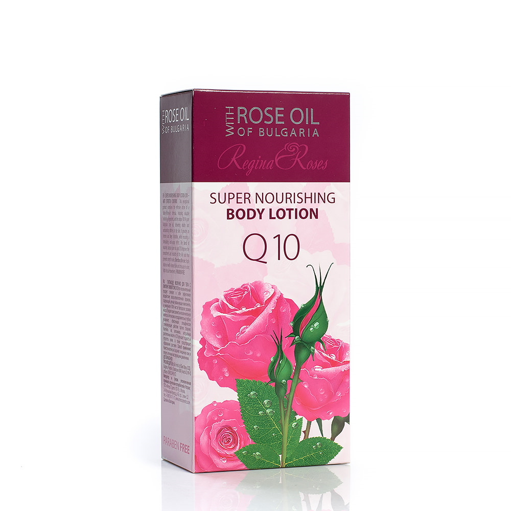 Super nourishing body lotion with coenzyme Q10 Regina Floris Biofresh