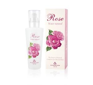Natural Rose water Bulgarian Rose 160 ml. (box)