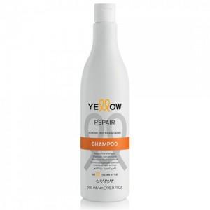 Възстановяващ шампоан за коса с бадемови протеини и какао Repair Yellow