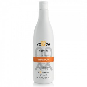 Restoring shampoo with almond proteins and coconut Repair Yellow