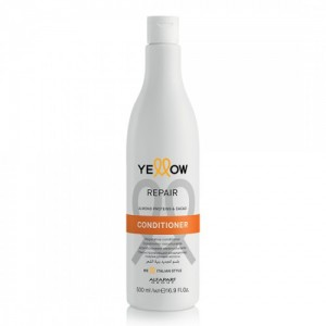 Restoring conditioner with almond proteins and coconut Repair Yellow