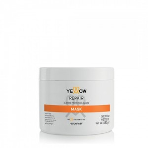 Restoring hair mask with almond proteins and coconut Repair Yellow