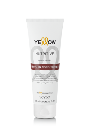 Nourishing conditioner with argan and coconut Nutritive Yellow