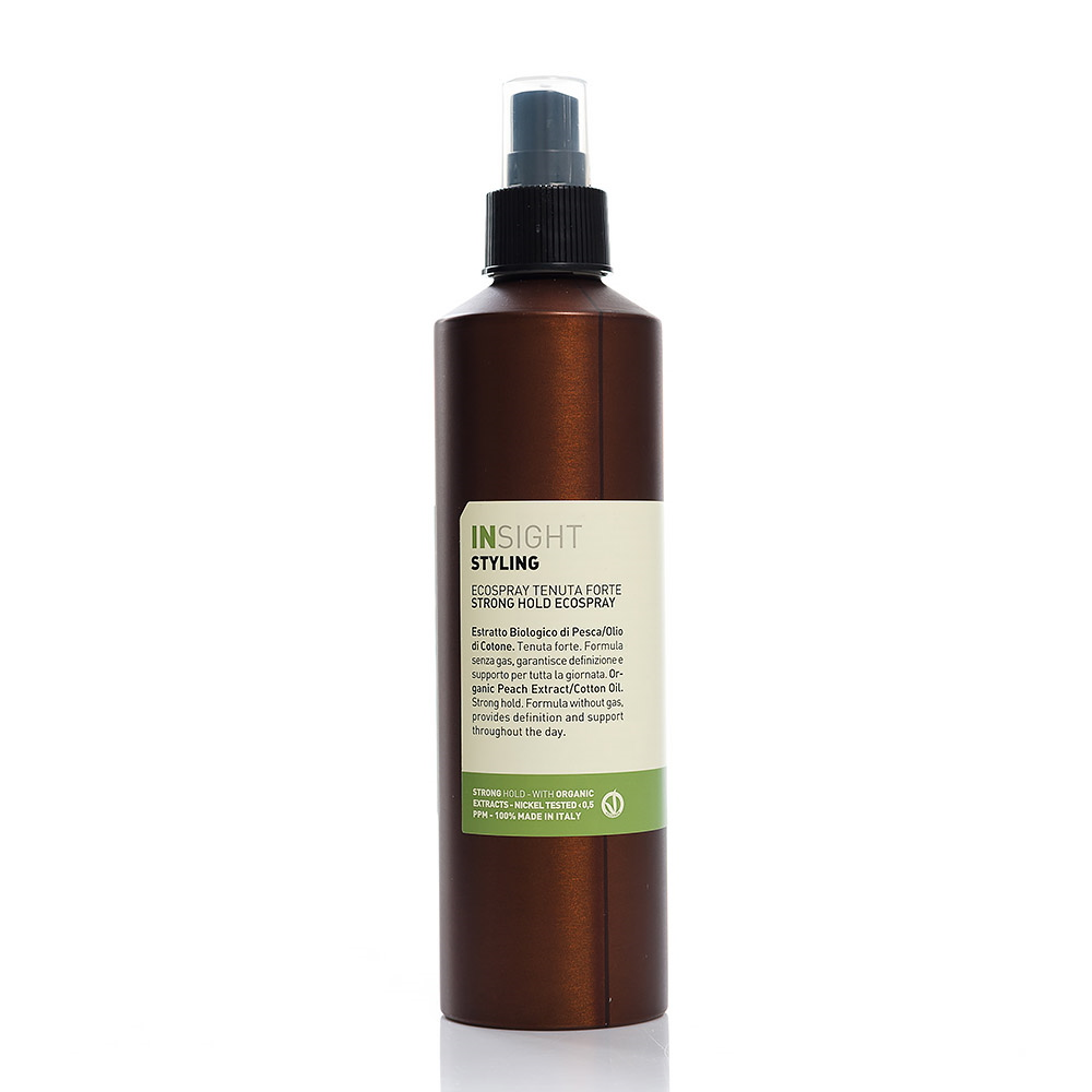 Eco hair spray for strong fixation Strong Hold Rolland InSight