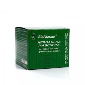 Hair mask against seborrhea, oily roots and dry ends Herbagene Biopharma