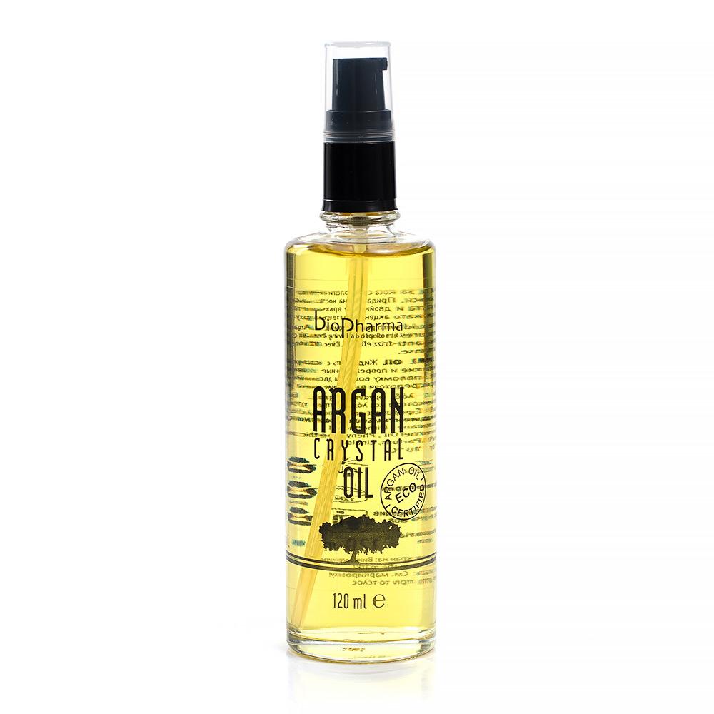 Кристално олио за коса с арган 120 мл. Argan Crystal Oil Biopharma