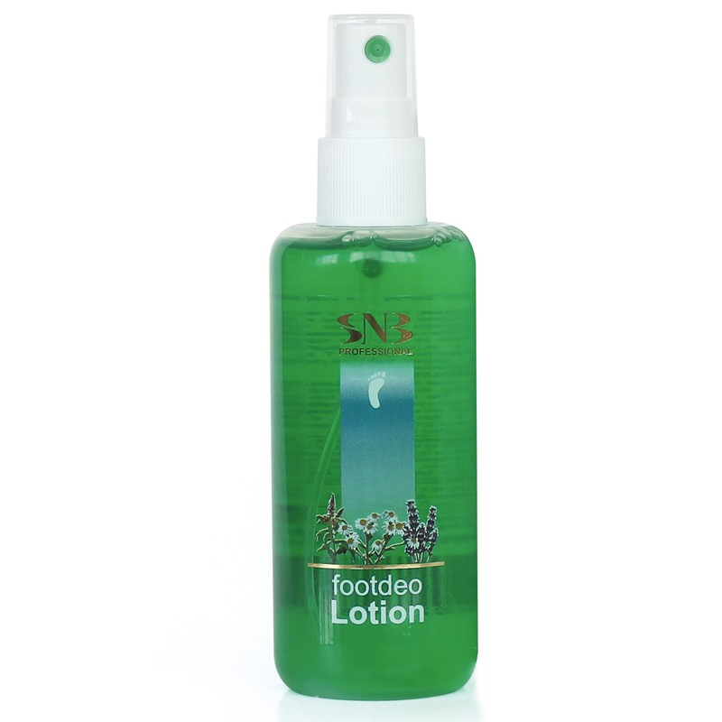 Cooling and refreshing deo foot lotion with oregano SNB