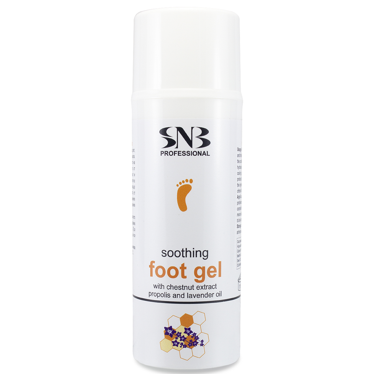 Soothing foot gel with lavender oil and propolis 100 ml. SNB