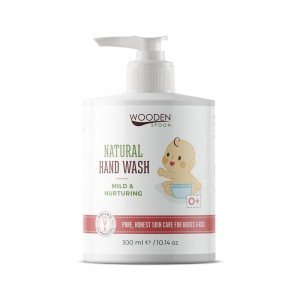 Natural hand wash for babies and kids Wooden Spoon