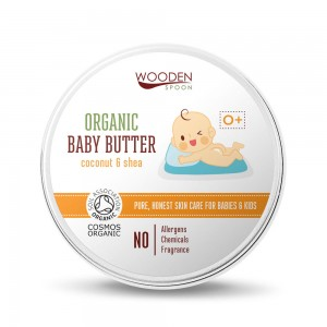 Organic baby body butter Wooden Spoon