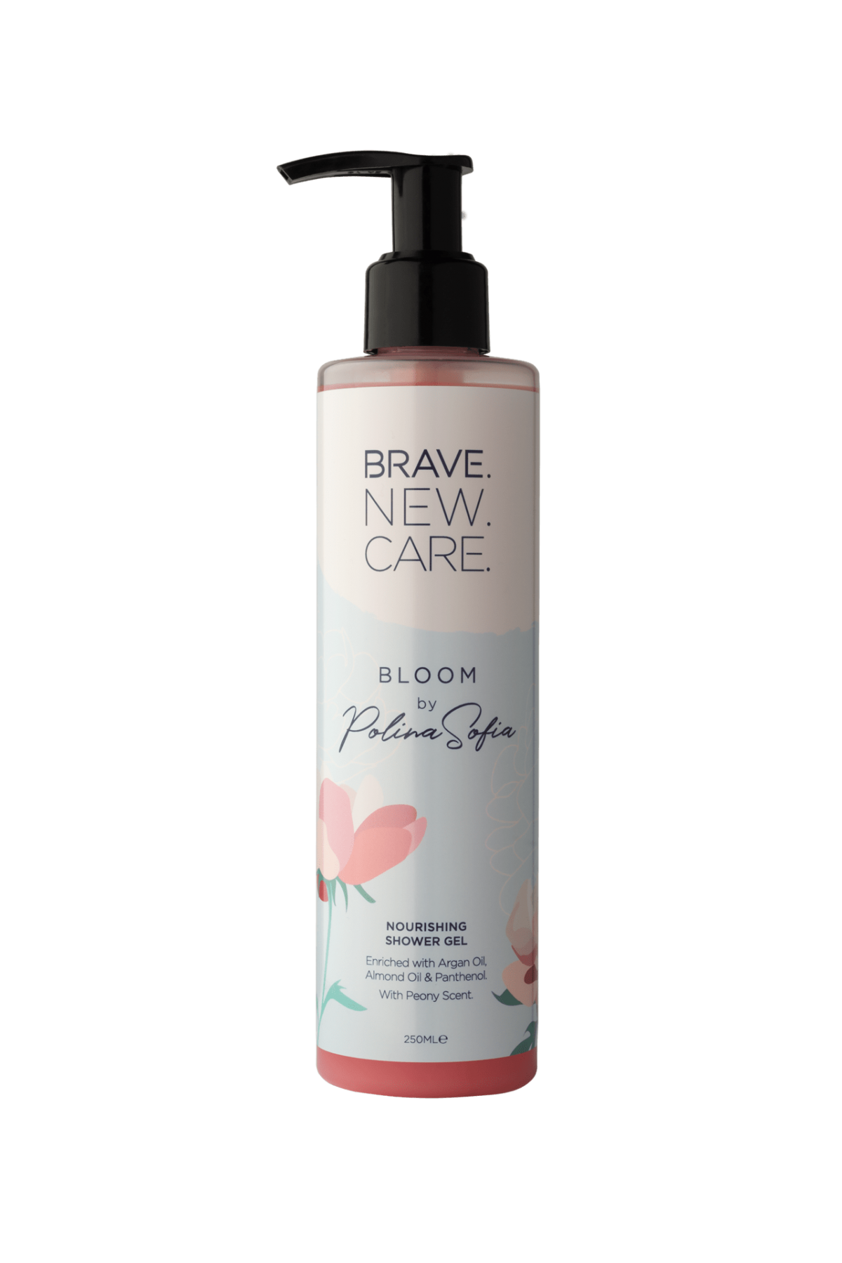 Nourishing and softening shower gel Bloom by Polina Sofia