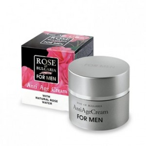 Rejuvenating face cream for men Rose of Bulgaria Biofresh