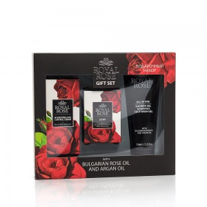 Mini men's gift set Royal Rose Biofresh