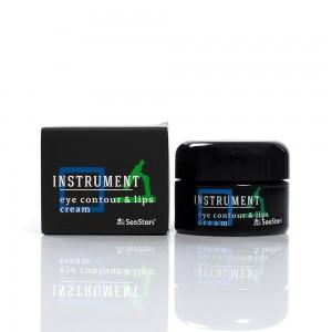Men's cream for eye contour and lips Instrument Black Sea Stars