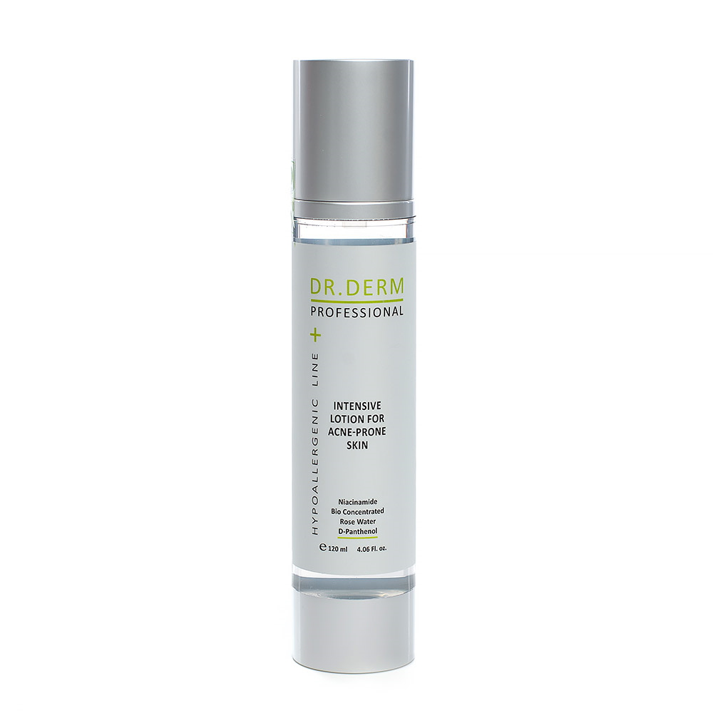 Intensive Lotion for Acne-Prone Skin Dr. Derm Professonal