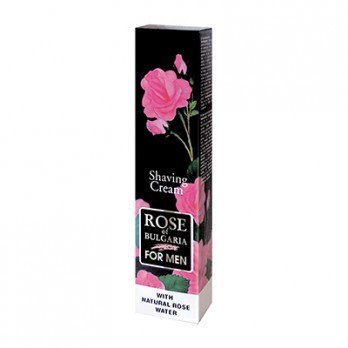 Shaving cream with natural rose water Rose of Bulgaria Biofresh
