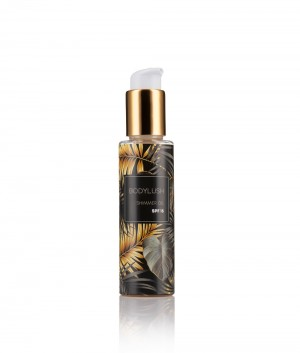 Shimmer body oil with SPF15 Body Lush