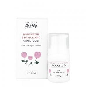 Rose water & Hyaluronic Aqua Facial Fluid Zoya Goes Pretty