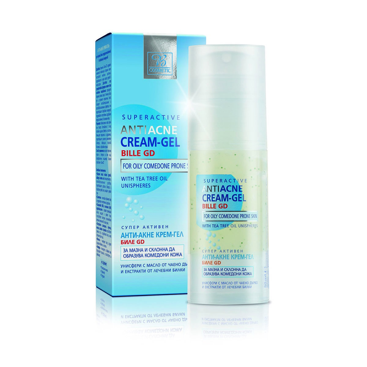 Anti acne cream-gel for oily and problematic skin Bodi Beauty