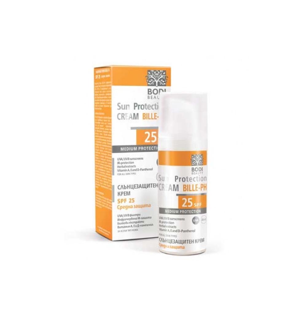 Слънцезащитен крем за лице с SPF 25 Bodi Beauty