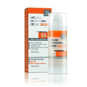 Anti-age sun protection face cream SPF 50 Bodi Beauty