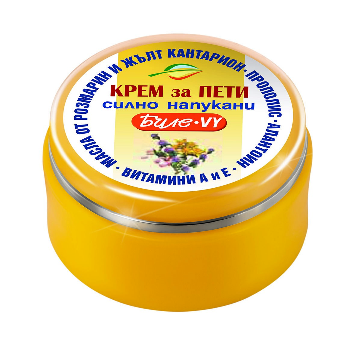 Cream-vaseline for very dry and cracked heels Bille-VY Bodi Beauty