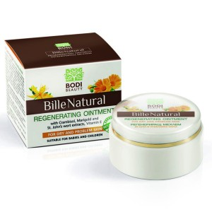 Regenerating ointment for dry and problematic skin Bille Natural Bodi Beauty
