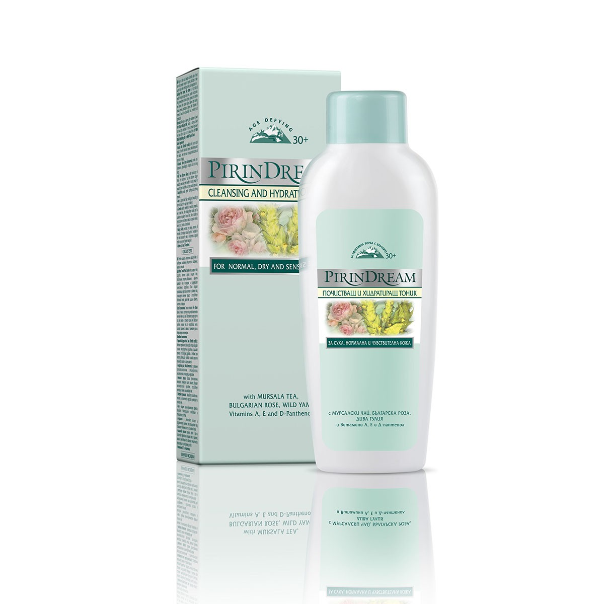 Cleansing and hydrating face toner Pirin Dream Bodi Beauty
