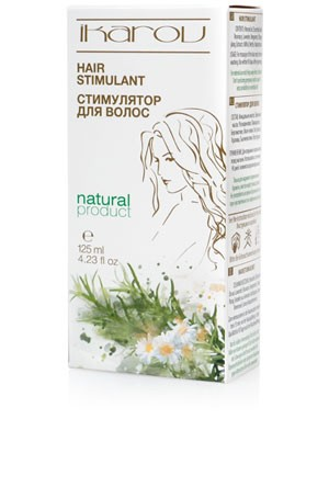 Hair growth stimulant Ikarov