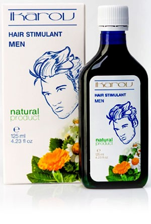 Hair growth stimulant for men Ikarov