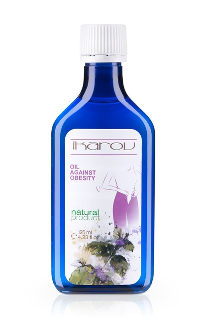 Sculpting massage oil against surplus weight Ikarov