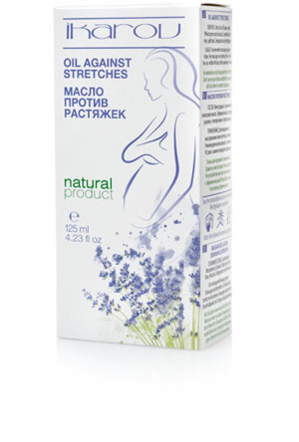 Massage oil against stretch marks Ikarov