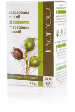 Natural macadamia oil Ikarov