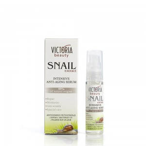 Regenerating face serum with a garden snail extract Victoria Beauty