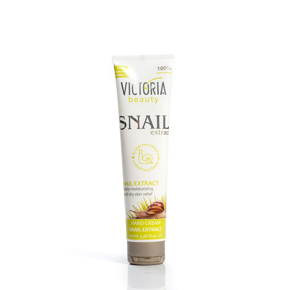Hand cream with a garden snail extract Victoria Beauty