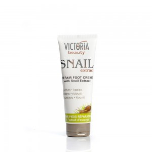 Restoring foot cream with a garden snail extract Victoria Beauty