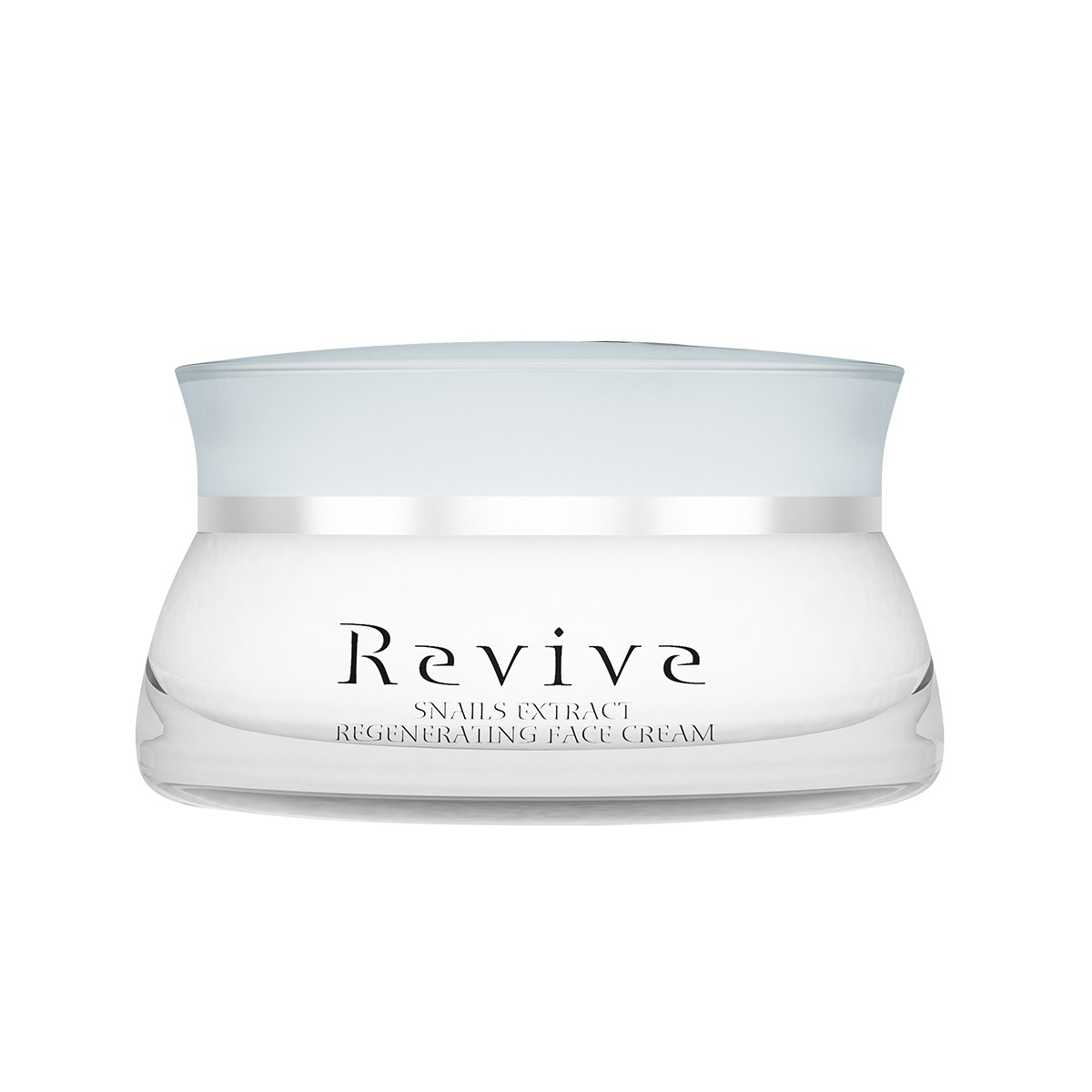 Regenerating face cream with a 100% snail extract and a delicate French aroma Revive