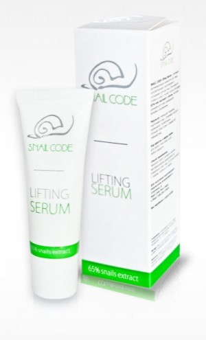 Regenerating face serum with a 100% purified snail extract Revive