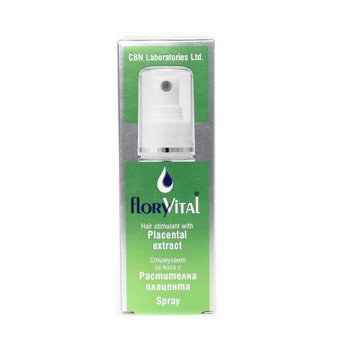Хидратиращ спрей за коса с растителна плацента FloryVital