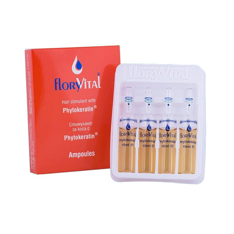 Стимулант за коса с Phytokeratin FloryVital