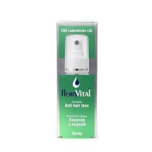 Powerful hair spray against dandruff and hair loss FloryVital