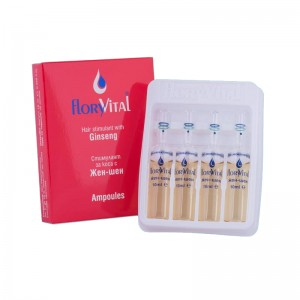 Hair stimulant with ginseng and natural extracts FloryVital
