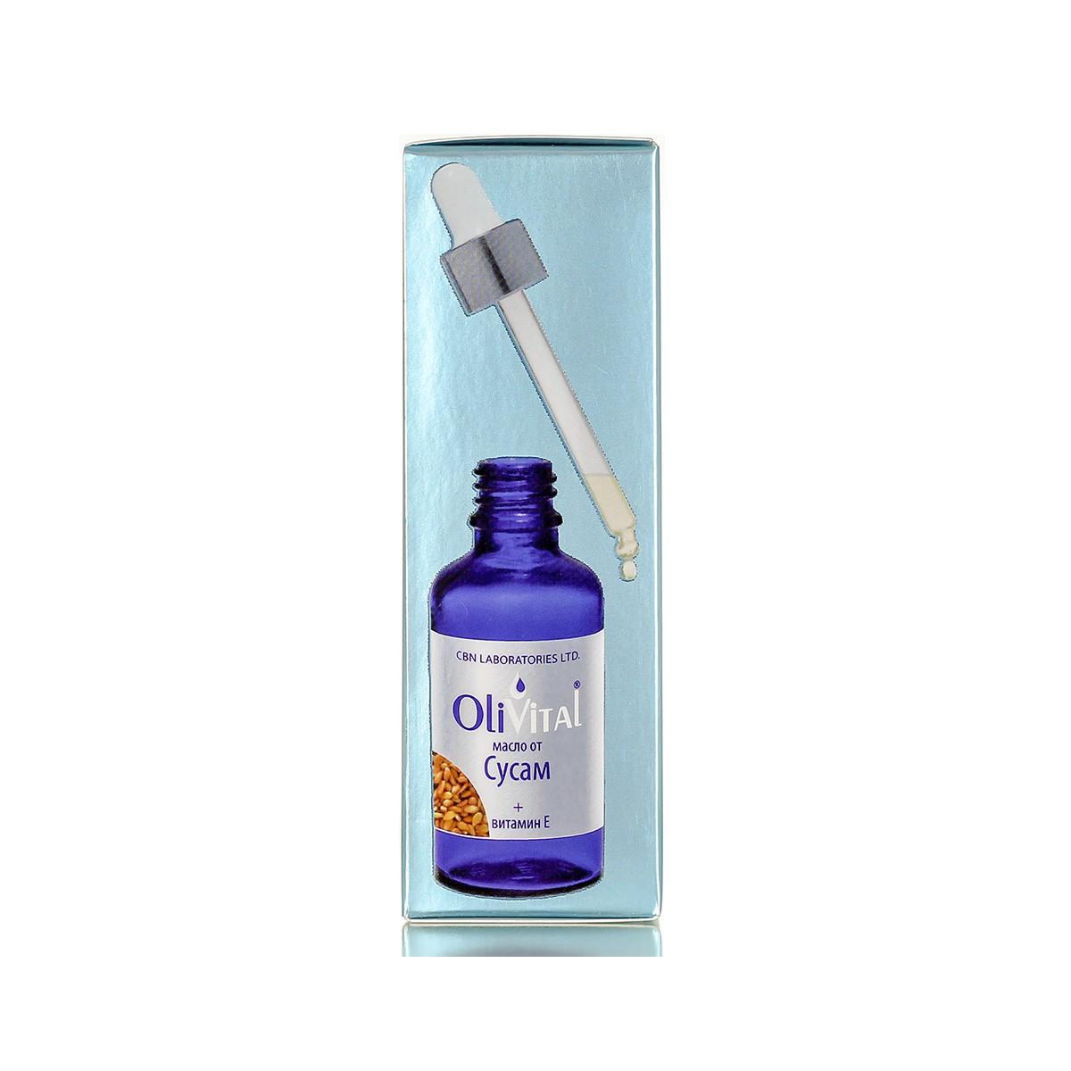 Натурално сусамово масло с витамин Е OliVital