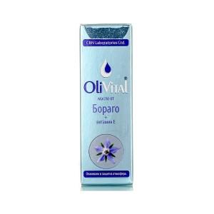 Натурално масло от бораго OliVital CBN Laboratories