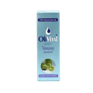 Organic tamanu oil OliVital CBN Laboratories