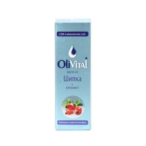 Натурално масло от шипка и витамин Е OliVital CBN Laboratories