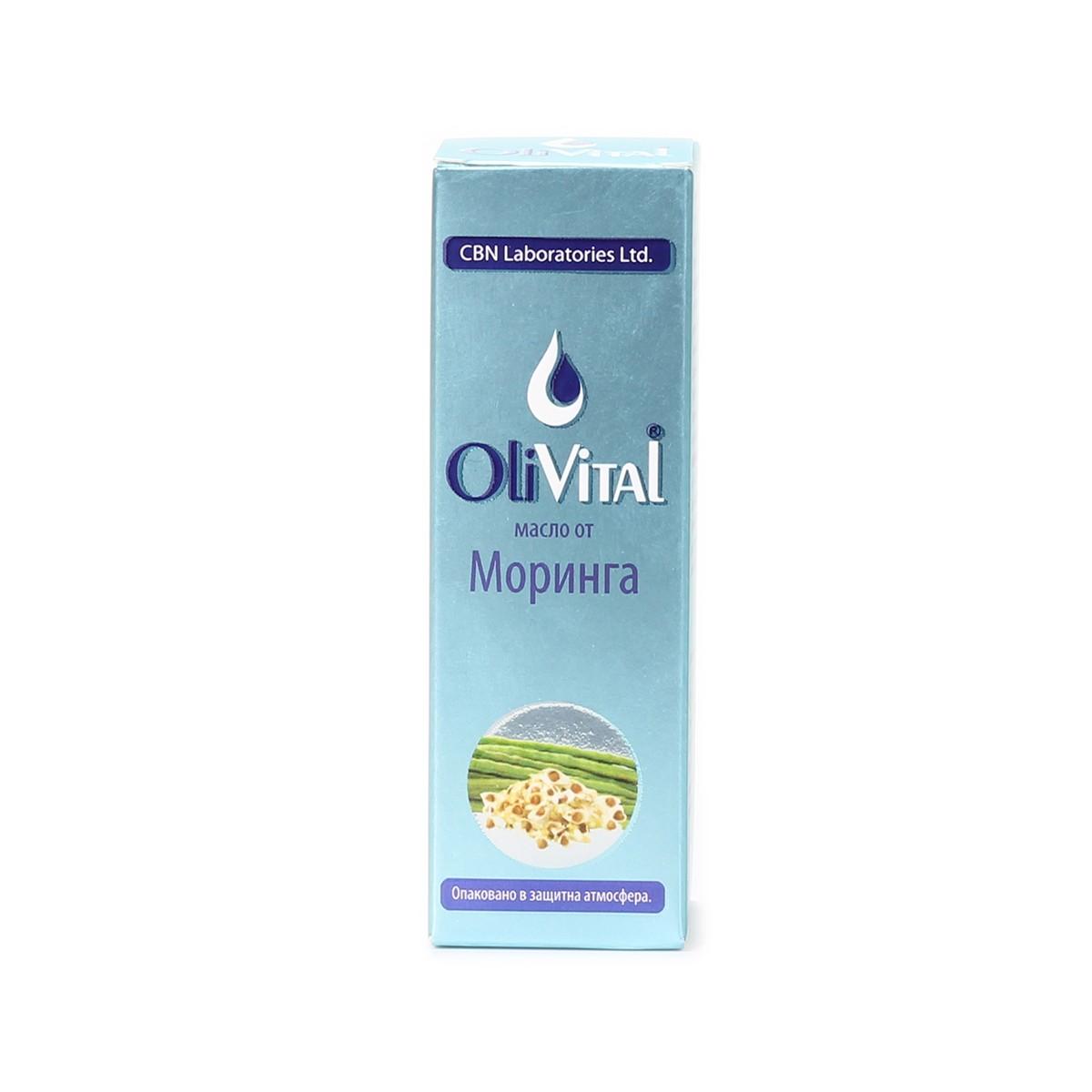 Natural moringa oil OliVital CBN Laboratories
