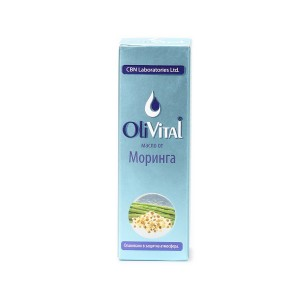 Natural moringa oil OliVital CBN Laboratories