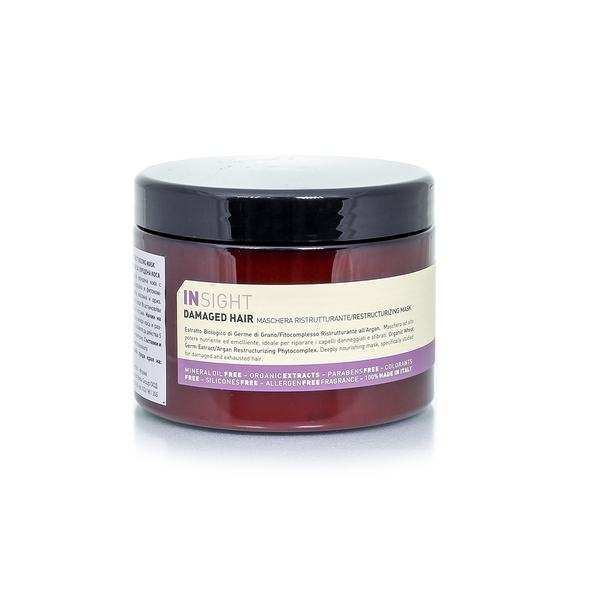 Restructuring mask for damaged hair Rolland InSight Christian of Roma 500 ml.
